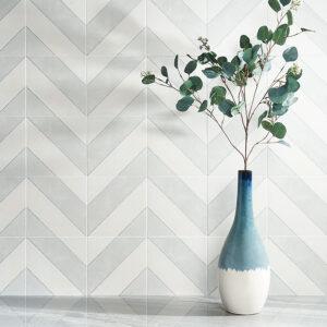 張りパターンで印象が変わるデザインタイル
