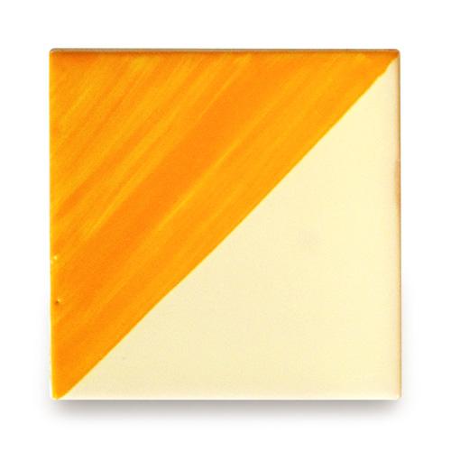 メキシコタイル柄 100角・セパレート黄色