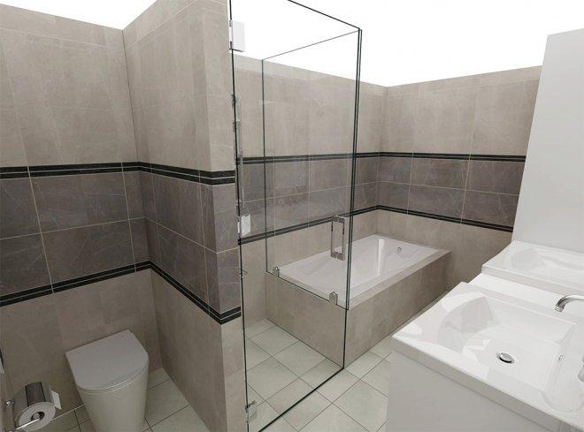 自由設計バスルーム:ベーシックプラン・デザイン例