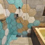 浴室タイルデザイン