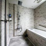 バスルーム施工例:B'stile「オールマーブル/アトランティス」×KOHLER