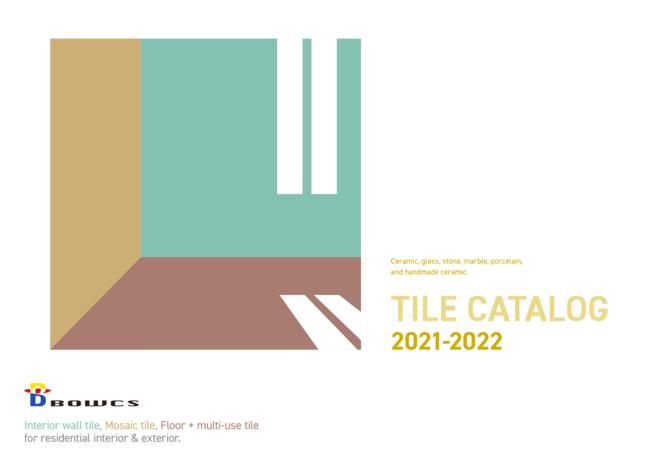 ボウクス・タイルカタログ2021-2022