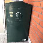 戸建用 宅配ボックス「ブライズボックス」 Ex-Large ダークグリーン:据え置き施工
