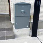 宅配ボックス「ブライズボックス」口コミ/ラージ(BL-GR):据え置き施工