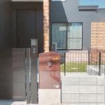 戸建用 宅配ボックス「ブライズボックス」口コミ/ショコラ(BL-CH):据え置き施工