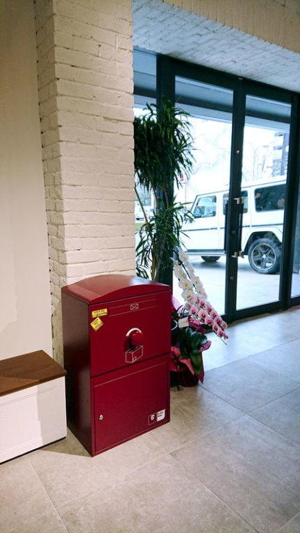 宅配ボックス「ブライズボックス」展示ショールーム