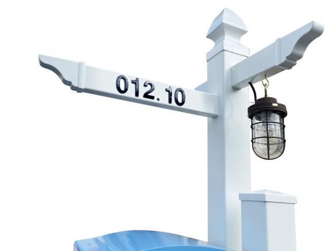 吊り下げ式マリンランプ・ハウスナンバー