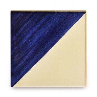 メキシコタイル柄 100角・セパレート青