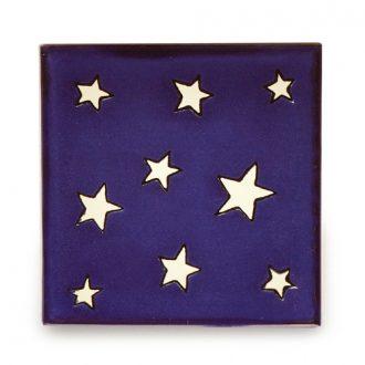 メキシコタイル柄 100角・星