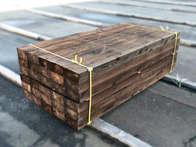 エステックウッド・ガーデン枕木(国産スギ)