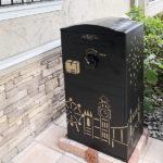 I様邸/宅配ボックス Brizebox DIYペイント:据え置き施工