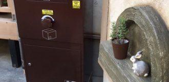戸建用・宅配ボックス「Brizebox - ブライズボックス」施工例