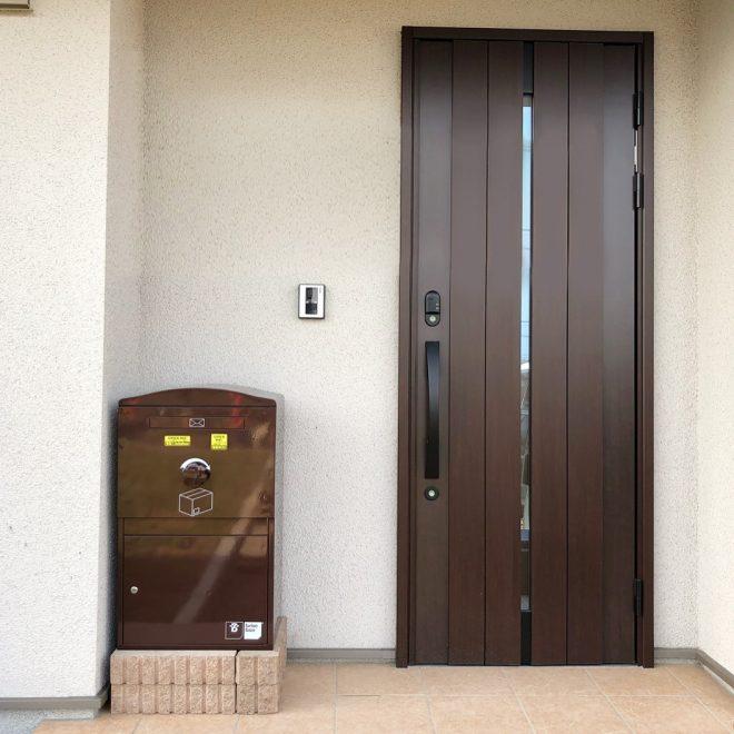 U様邸/Large ショコラ(BL-CH):据え置き施工