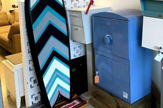 宅配ボックス「Brizebox ブライズボックス」ショールーム(カリフォルニア工務店ショールーム)