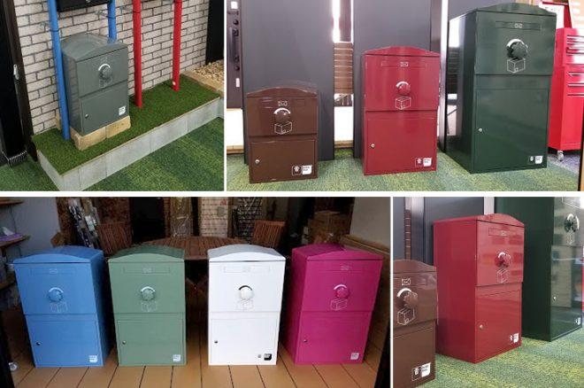 宅配ボックス「Brizebox ブライズボックス」ショールーム(STYLE-JAPAN博多ショールーム)