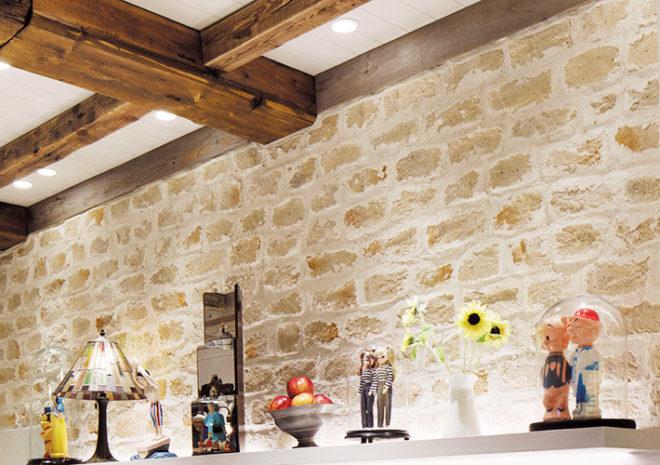 石積み調の壁材CAN'STONE「ロマーノ(ROM-2)」施工例
