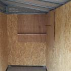 サイドウォールパネル ※画像は3段棚有孔ボード付
