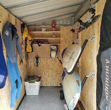 サーフボード収納庫TM2 board plus