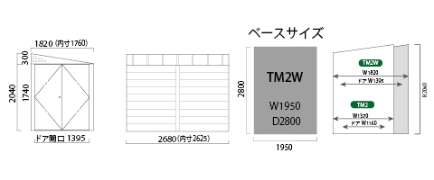 TM2W 仕様