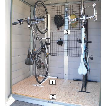 自転車収納庫 TM6サイクルプラス