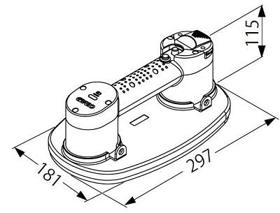 電動バキュームリフター「グラボ」形状図
